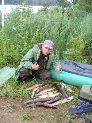костромские охотники и рыболовы